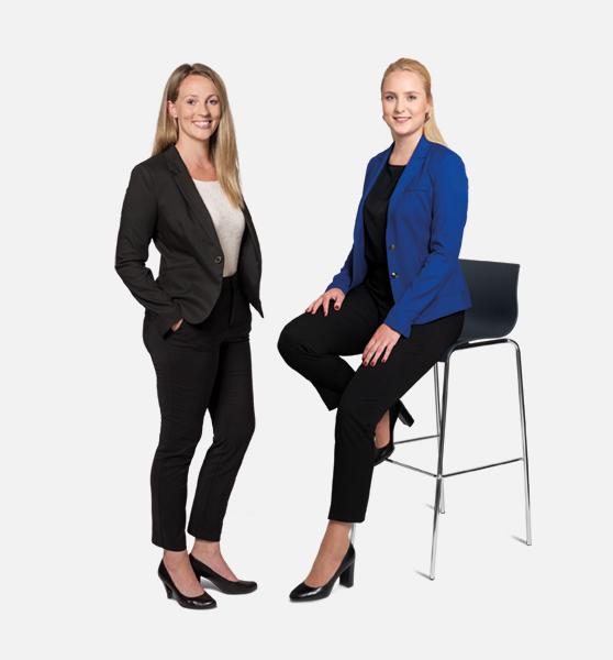 Marie Steidl und Viviane Ullrich - Ihre Ansprechpartnerinnen bei GSK Stockmann